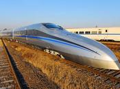 Chine teste train capable d'atteindre km/h