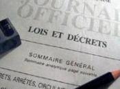 Publication décret l'expérimentation communication public voie électronique certains projets, plans programmes