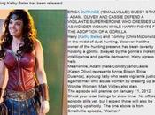 qu'il faut savoir (pour moment) l'apparition d'Erica Durance Wonder Woman