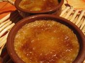 Crème brûlée foie gras croustillants pain d'épices