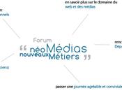 Invitation Forum Néo-médias, nouveaux métiers 2012