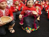 Pérou: marché Noël Cusco.