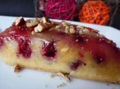 Gâteau renversé cranberries selon Martha Stewart