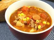 Soupe bœuf mexicaine