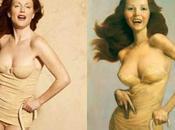 Julianne moore modele peindre, peter lindbergh