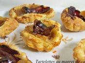 Tartelettes magret canard d'oignons