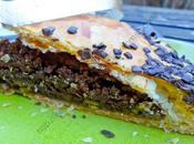 Galette rois chocolat éclats pistaches French Chocolate King Cake with Pistachio