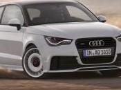 Audi Quattro chevaux dans petite
