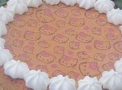 Gâteau éponge avec feuille papier cuisson ScrapCooking