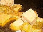 Croustillants confit d'endives l'orange foie gras