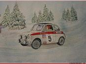Fiat abarth.... neiges...