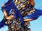 printemps 2012 tribal avec modèle Rosie Huntington