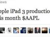 iPad production démarre