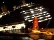 Naufrage d'un navire croisière Costa Concordia Italie