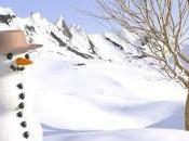 bonhomme neige cette année