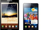 Android arrive Galaxy Note