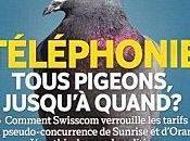 téléphonie mobile Suisse sous concurrence artificielle