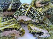 Paupiette chou vert DUKAN farcie saumon tofu soyeux
