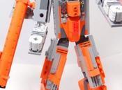 Megatron Lego transforme Zapper