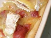 Tartelette fine camembert