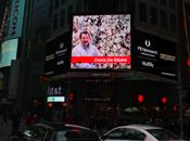 artiste belge Times Square