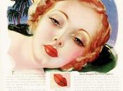 Années trente maquillage lèvres
