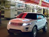 Range Rover Evoque power presence