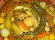 Tagra poulet légumes