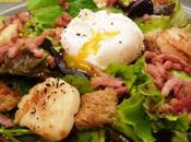 Salade jacques lyonnaise