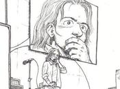 dessin d'un concert avec Eddie Vedder Pearl