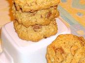 Cookies flocons d'avoine, chocolat noir noisettes