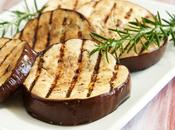 Aubergines grillées plancha