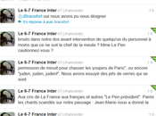 Audrey Pulvar Arnaud Montebourg agressés Madame Pen, condamnez-vous