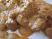 Sauté dinde champignon crème
