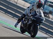 Moto tests Aragon pour
