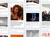 Friendsheet photos Facebook façon Pinterest