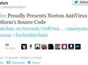 Anonymous libèrent code source Norton Antivirus