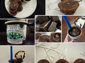 Tout petit mi-cuit marron chocolat, éclats daim Homemade