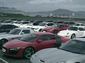 plus belles voitures monde s'affrontent pour bonne cause