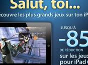 Promotion jeux iPad Electronic Arts (Fifa, Real Racing, Dead Space, ...)