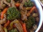 Sauté bœuf légumes citronnelle