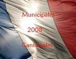 "Municipales cantonales 2008 ""points chauds"" second tour Limousin"