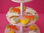 Biscuits décorés pâte sucre pour Pâques!