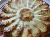 gâteau léger fromage blanc pommes