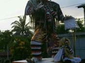 s'appelle Ogoh Ogoh, géant pour préparation de...