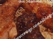 Filets Boeuf aiguillettes Poulet grillés sésame