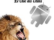 Google contre Apple: choc titans commencé!