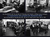Exposition projets diplômes Strate College 2012
