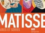 Exposition Matisse, paires séries