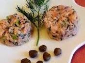 Tartare saumon l'aneth